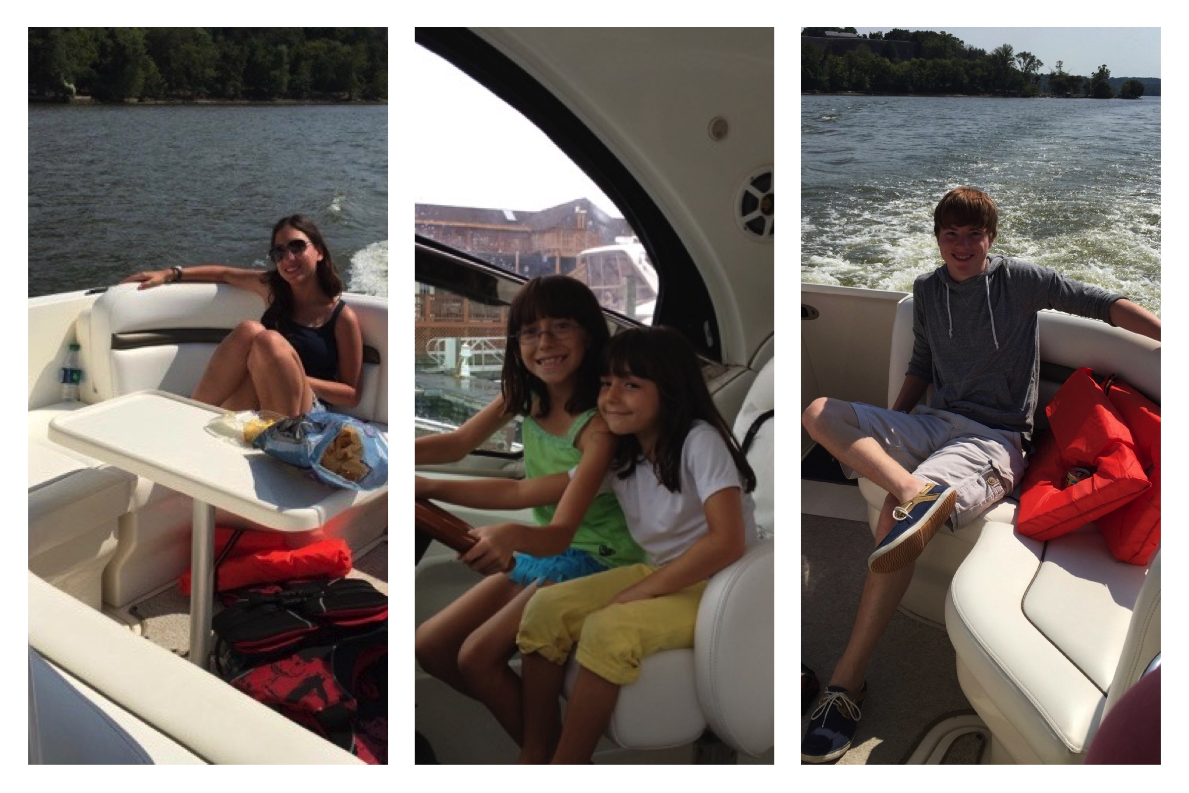 Family Cruise Collage